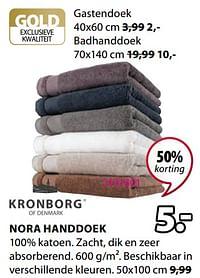 Nora handdoek-Kronborg