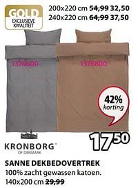 Sanne dekbedovertrek-Kronborg