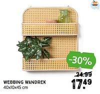 Webbing wandrek-Huismerk - Xenos