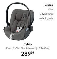 Cybex cloud z i-size plus autostoeltje soho grey-Cybex
