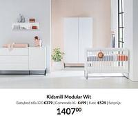 Kidsmill modular wit-Kidsmill