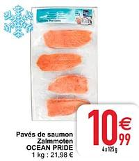 Pavés de saumon zalmmoten ocean pride-Ocean Pride