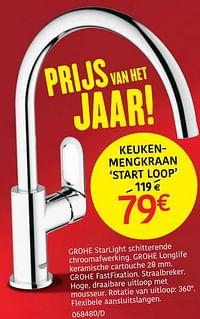Keukenmengkraan start loop-Huismerk - HandyHome
