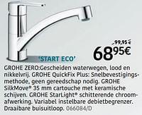 Mengkranen start eco-Grohe
