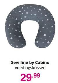 Sevi line by cabino voedingskussen-Cabino