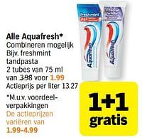 Aquafresh freshmint tandpasta-Aquafresh