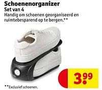 Schoenenorganizer-Huismerk - Kruidvat