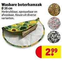 Wasbare boterhamzak-Huismerk - Kruidvat