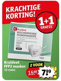 Kruidvat ffp2 masker-Huismerk - Kruidvat