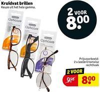 Leesbril tortoise rechthoek-Huismerk - Kruidvat