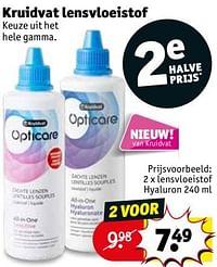 Lensvloeistof hyaluron-Huismerk - Kruidvat
