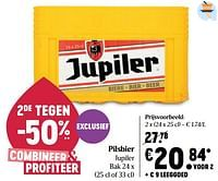 Pilsbier jupiler-Jupiler