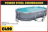 Power steel zwembaden-BestWay