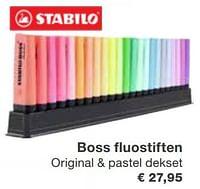 Boss fluostiften-Stabilo