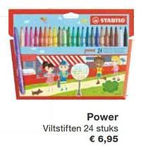 Power viltstiften-Stabilo