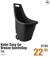 Keter easy go breeze tuintrolley-Keter