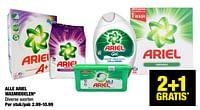 Alle ariel wasmiddelen-Ariel