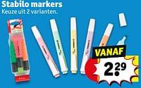 Stabilo markers-Stabilo