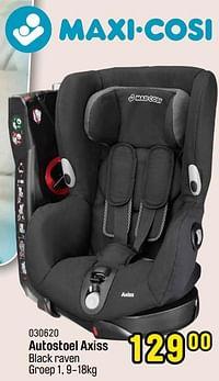 Autostoel axiss black raven-Maxi-cosi