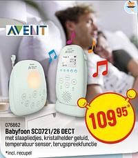Avent babyfoon scd721-26 dect-Avent