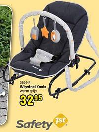 Wipstoel koala warm grijs-Safety 1st