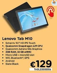Lenovo tab m10-Lenovo