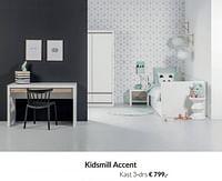 Kidsmill accent kast 3-drs-Kidsmill