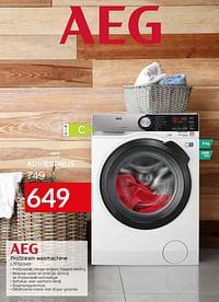 Aeg prosteam wasmachine l7fse84b-AEG