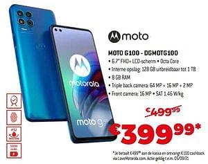 Motorola moto g100 - dgmotg100