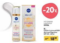 Cellular luminous630 anti-spot dagcrème spf 50-Nivea