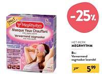 Verwarmend oogmasker lavendel-Megrhythm