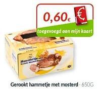 Gerookt hammetje met mosterd-Huismerk - Intermarche