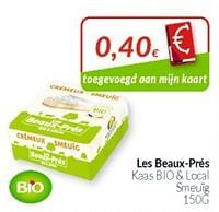 Les beaux-prés kaas bio + local smeuig-Huismerk - Intermarche