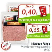 Monique ranou vleesbrood van gevogelte-Monique ranou