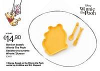 Bord en bestek winnie the pooh assiette et couverts winnie l'ourson-Disney
