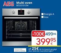 Aeg multi oven bes33101zm-AEG