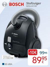 Bosch stofzuiger bzgl2x100-Bosch