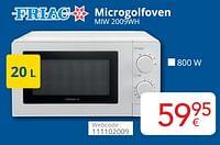 Friac microgolfoven miw 2009wh-Friac