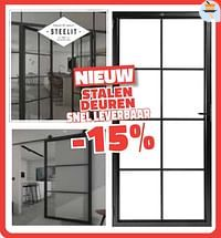 Stalen deuren snel leverbaar -15%-Steelit