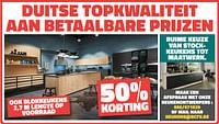 50% korting duitse topkwaliteit aan betaalbare prijzen-Huismerk - Bouwcenter Frans Vlaeminck