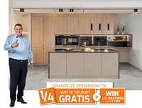 Grandioze openingsactie: 1-4 van je keuken gratis + win* een vaatwas t.w.v. € 1.599-Huismerk - Dovy Keukens