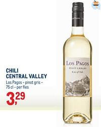 Chili central valley los pagos - pinot gris-Witte wijnen