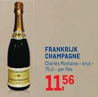Frankrijk champagne charles montaine - brut-Champagne