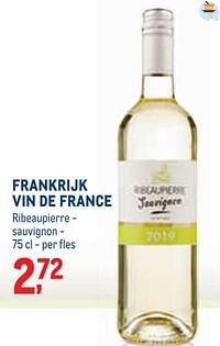 Frankrijk vin de france ribeaupierre - sauvignon-Witte wijnen