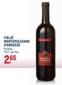 Italië montepulciano d`abruzzo predella-Rode wijnen