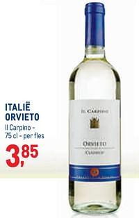 Italië orvieto il carpino-Witte wijnen
