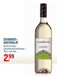 Zuidoost- australië central creek - colombard-chardonnay-Witte wijnen
