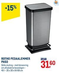 Rotho pedaalemmer paso-Paso