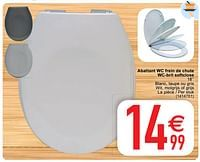 Abattant wc frein de chute wc-bril softclose-Huismerk - Cora