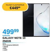 Samsung galaxy note 10 256gb-Samsung